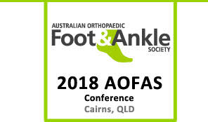 AOFAS Conference 2018 Cairns QLD